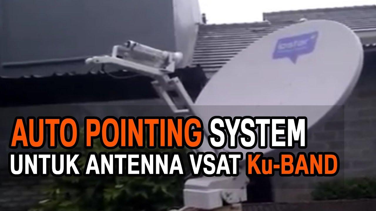 Ku Band Vsat Antenna Auto Pointing System Youtube