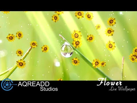 Flowers Live Wallpaper For Android Free