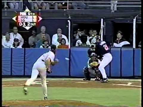 Astros vs. Padres, 1998 NL Divisional Playoffs (game 4)