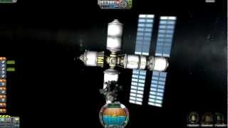 Kerbal Space Program 0.18: Building a Space Station