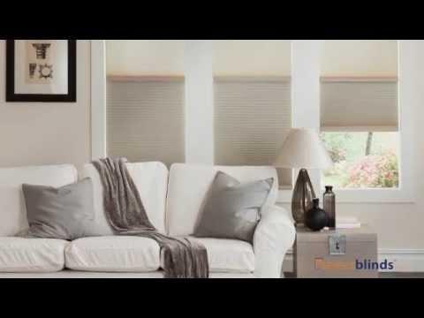 Light Filteringblackout Cordless Cellular Shades Youtube
