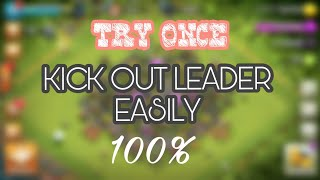 #DEMOTE INACTIVE LEADER (KICK OUT YOUR LEADER)