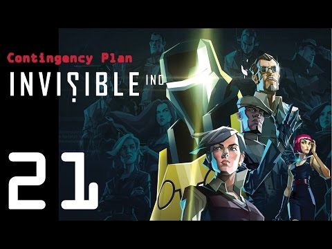 Invisible Inc. Contingency Plan 21 - Dr Xu: Zero AP!