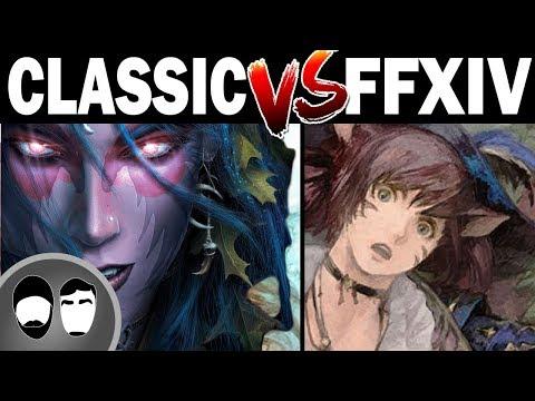 WOW Classic Vs FFXIV Shadowbringers - YouTube