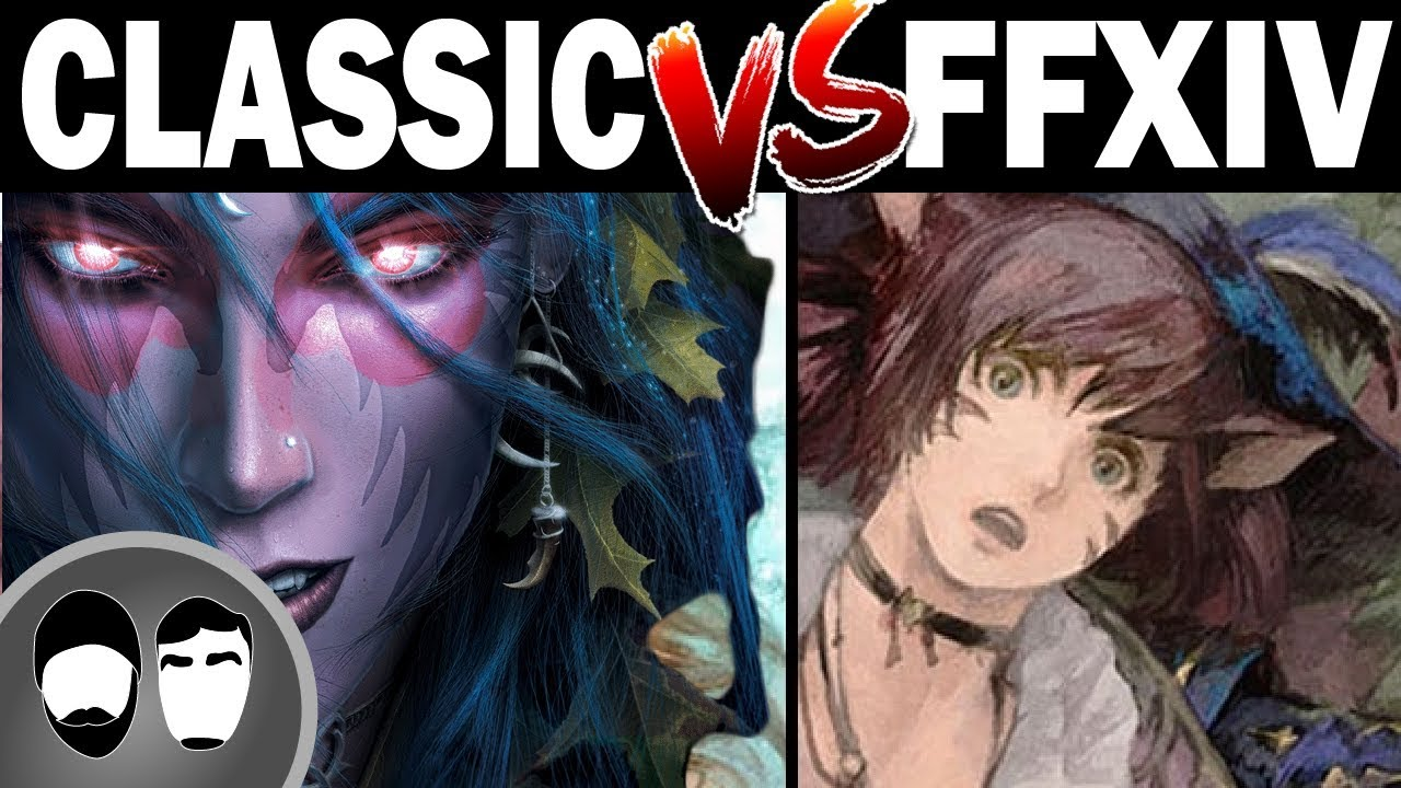 Watch WOW Classic Vs FFXIV Shadowbringers - World of