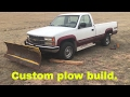 1990 Chevy gets a Meyer snow plow.