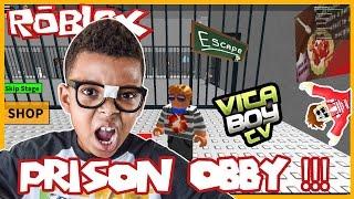 Roblox - Escape the Prison OBBY - VitaBoyTV