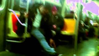 Drunkest Subway Passenger