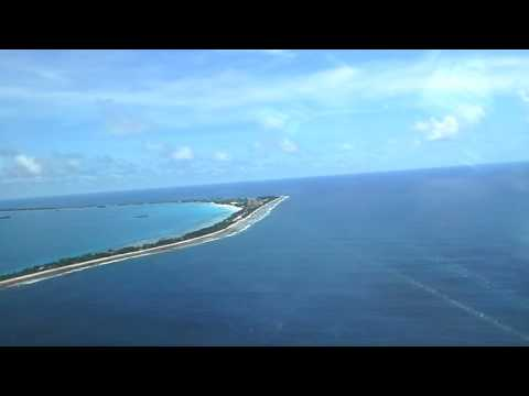 Approach To Land in Funafuti