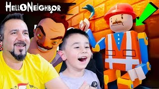 HELLO NEIGHBOR GİZEMLİ OYUNCAK ADAMIN SIRRI NE?! | HELLO NEIGHBOR #5