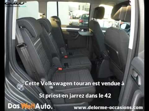 volkswagen touran occasion visible st priest en jarrez pr sent e par rocle occasions youtube. Black Bedroom Furniture Sets. Home Design Ideas