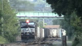 Incredible NS Train Chases in the Reading, PA Area, August 2, 2011