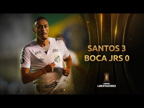 Santos Boca Juniors Goals And Highlights