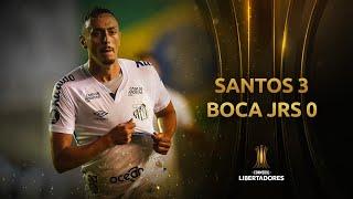 Santos vs. Boca Juniors [3-0] | RESUMEN | Semifinal | VUELTA | CONMEBOL Libertadores