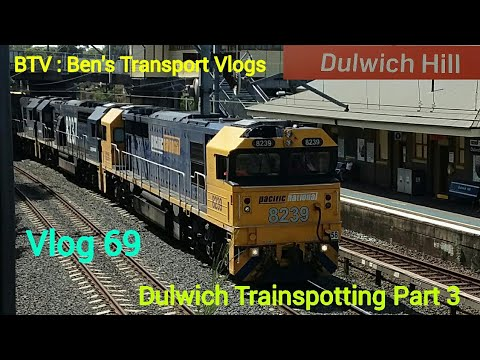 BTV : Ben's Transport Vlogs ] Vlog 69 Dulwich Hill Trainspotting Part 3