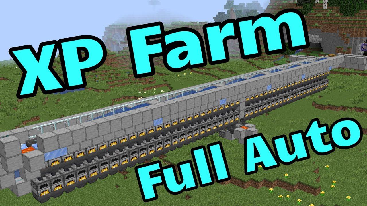 Full Auto XP Farm - 8k XP Per Day (Minecraft Java 8.86+)