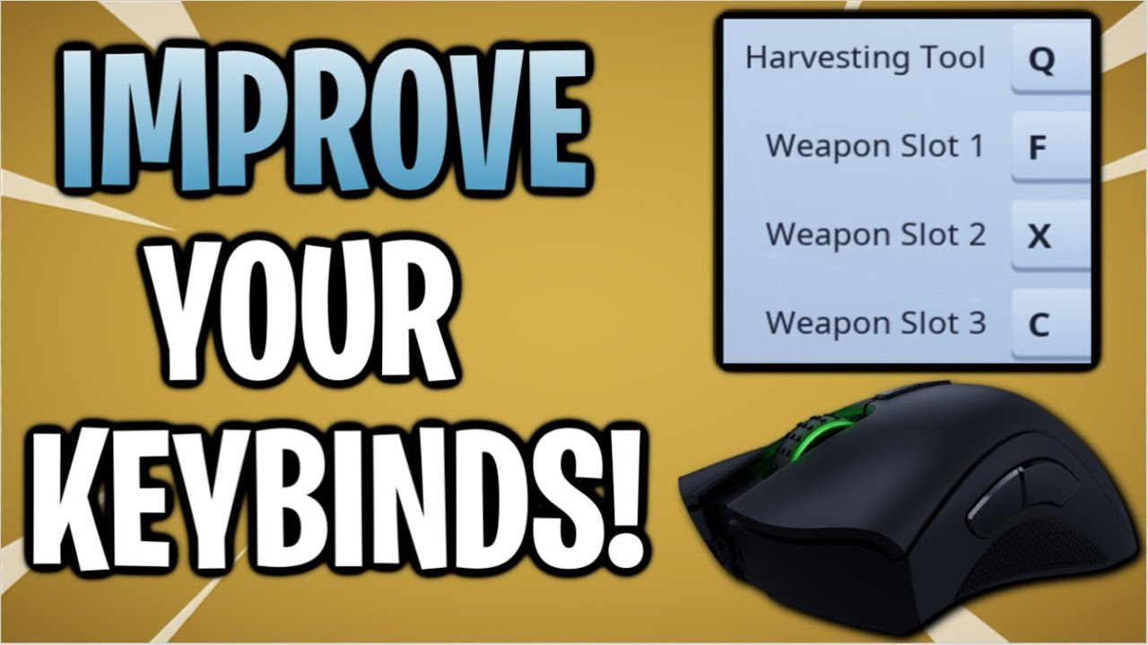 Whats the best keybinds for fortnite   Best Fortnite Pro