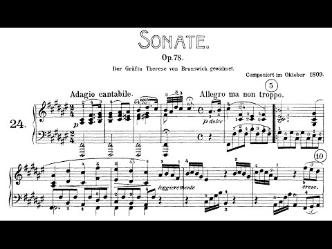"Beethoven: Sonata No.24 in F-sharp Major, ""à Thérèse"" (Biss, Kovacevich, Jando)"