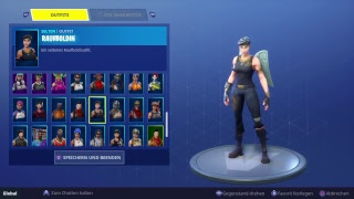 My Fortnite account value about 1000 € locker and stats