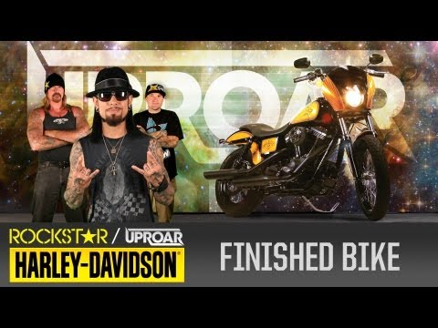 Harley Davidson Rockstar UpRoar Bike Give Away - Part Two