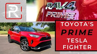 The 2021 Toyota RAV4 Prime is Proof That Quick Accelerating Hybrids Are Here