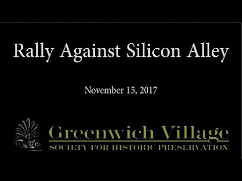 Rally Against Silicon Alley 11/15/17