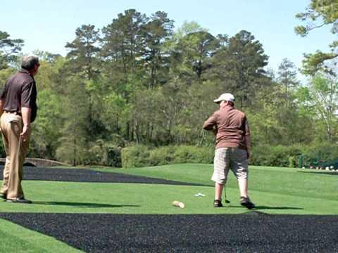The Masters Monday Practice Round - Amen Corner - Augusta National, Amazing Kid Golfer