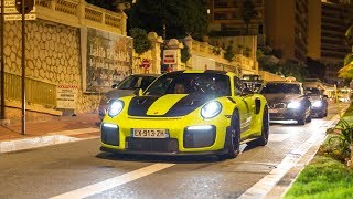 Supercars in Monaco 2018 - VOL. 6 (LaFerrari, 2x 991 GT2 RS, F12 TDF, Capristo SV, 2x Murcielago)