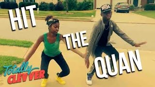 HIT THE QUAN Tutorial on the Streets! – iHeart Memphis Dance Moves Explained (Totally Clevver)