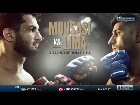 Full Fight: Gegard Mousasi Outpoints Douglas Lima To Regain Middleweight Title | CBS Sports HQ