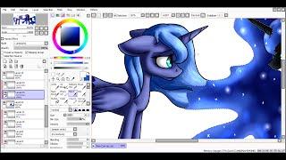 [SpeedPaint] Luna