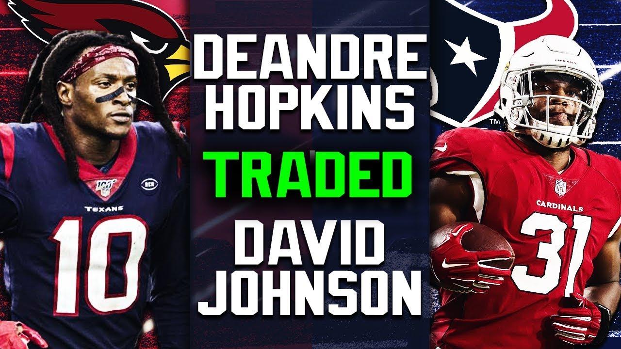 「deandre hopkins cardinals david johnson」の画像検索結果