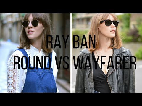 Ray Ban Sunglasses Review Round Vs Wayfarer | Fashion Et Moi