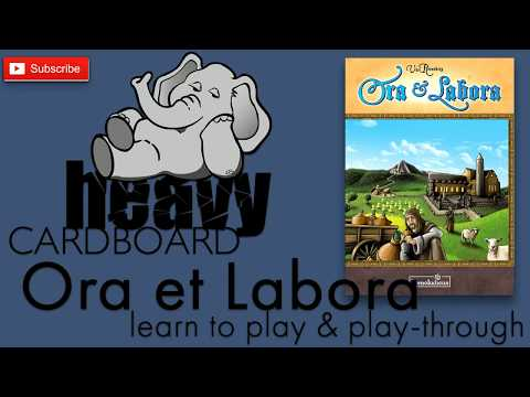 Ora & Labora 3p Play-through, Teaching, & Roundtable discussion by Heavy Cardboard