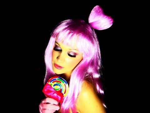 Katy Perry - 'California Girls' Official Music Video Halloween Tutorial! Candyland Inspired Look!