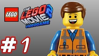 LEGO Movie 2 Videogame - Part 1 - EVERYTHING IS AWESOME! (HD Gameplay Walkthrough)