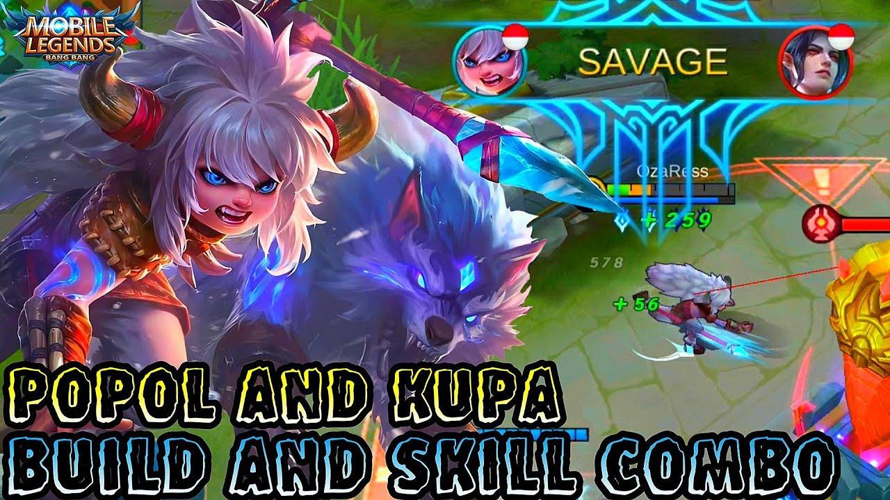 Popol And Kupa Best Build And Skill Bo Mobile Legends Bang Bang