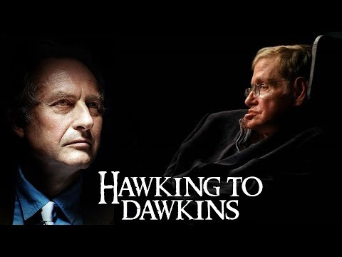 Hawking followed Dawkins || Stephen Hawking & Richard Dawkins