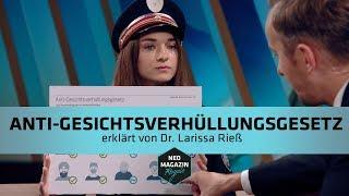 Anti-Gesichtsverhüllungsgesetz erklärt von Dr. Larissa Rieß  | NEO MAGAZIN ROYALE mit Jan Böhmermann