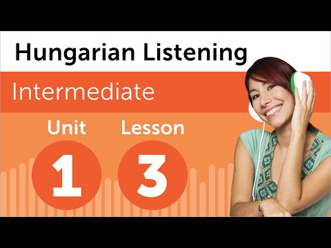 Hungarian Listening Practice - At the Hairdresser in Hungary
