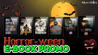 [ omaralattas ] vlog #102-2018: Horror-ween eBook Promo