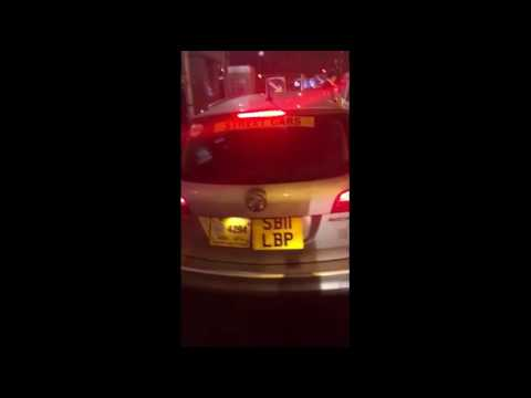 Illegal plying for hire in Manchester City Centre