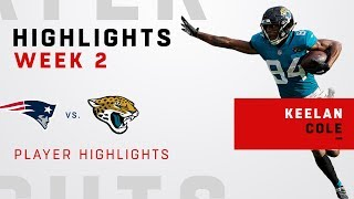 Keelan Cole's 7 Catches, 116 Yards & TD vs. Pats!