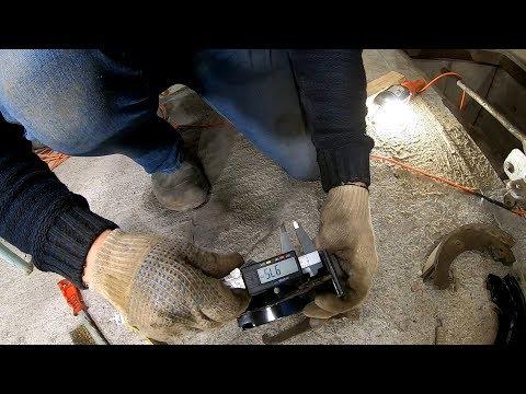 Будни Турбо-Нивы Замена задних тормозных колодок на колодки от компании ATE