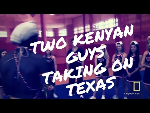 Two Kenyan Guys Taking on Texas
