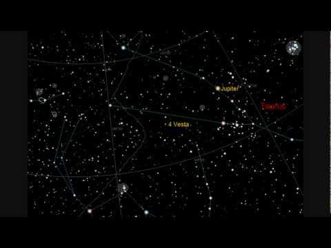 Asteroid (4) Vesta Opposition