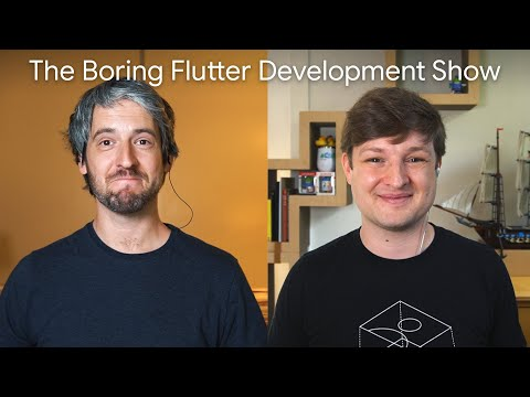 Typography (The Boring Flutter Development Show, Ep. 40)