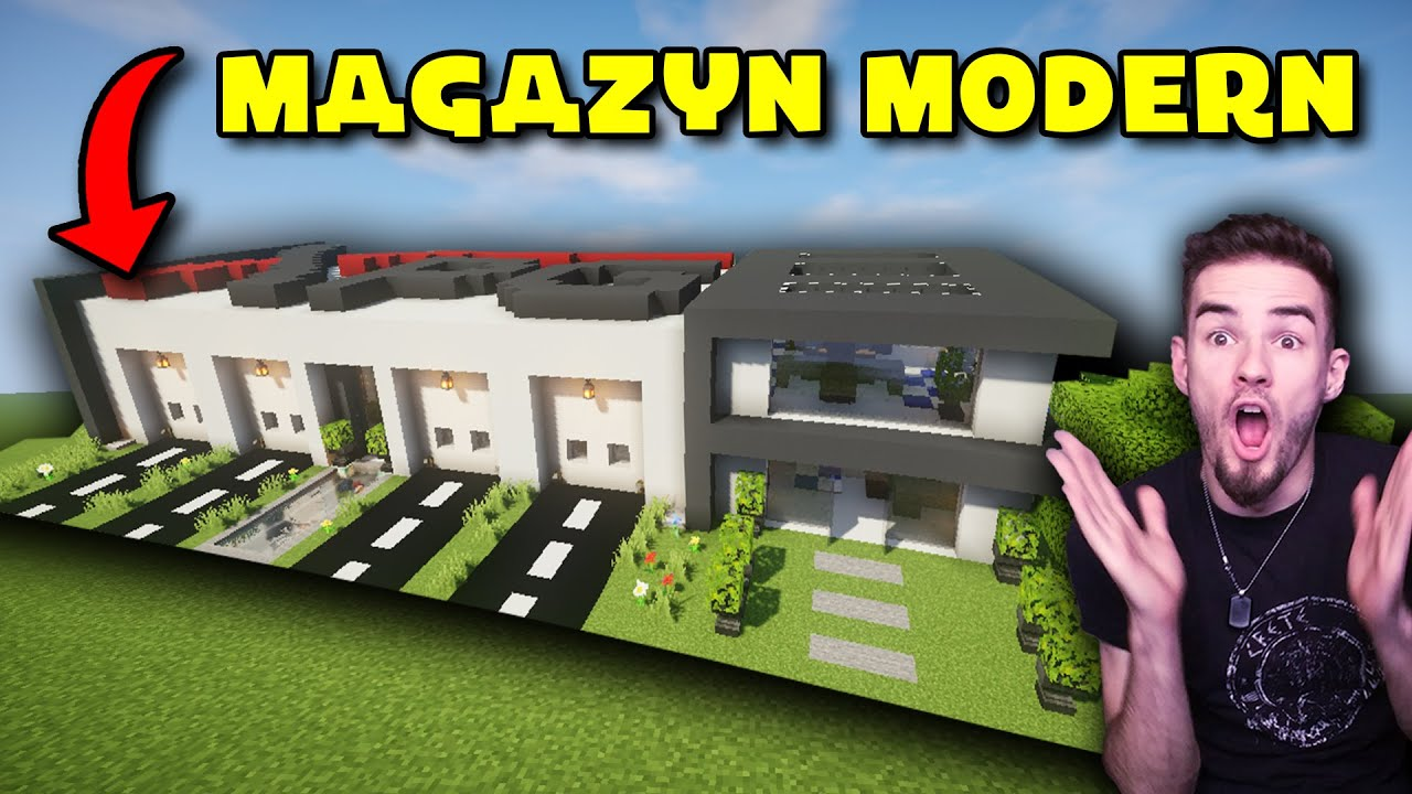 MEGA Magazyn Modern w Minecraft #137 *wyzwanie XPG*