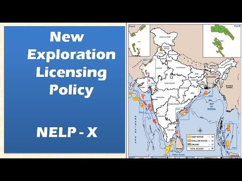 New exploration licensing policy: NELP X : Exploration of hydrocarbons