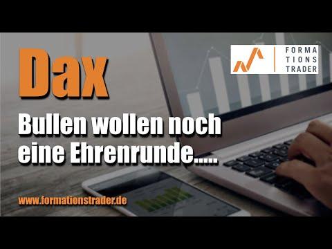 Dax-Analyse: Bullen wollen noch eine Ehrenrunde….